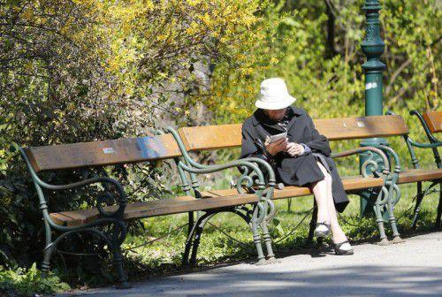 Vor jedem Urnengang nehmen sich die Parteien der Pensionisten an.                Foto: APA