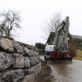 Trockenmauern in Feldkirch werden saniert