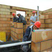 Mehr Chancen für Baugewerbe