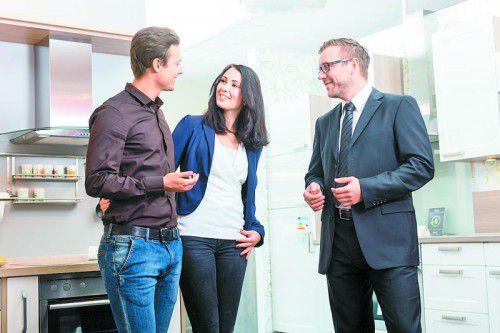 Die Vorarlberger Einrichtungsfachhändler berieten besonders viele Schweizer Kunden.