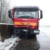 Unfälle im Schneetreiben