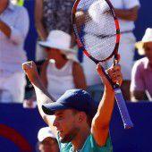 Thiem steht in Rio im Viertelfinale