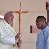 Papst hält Donald Trump für unchristlich