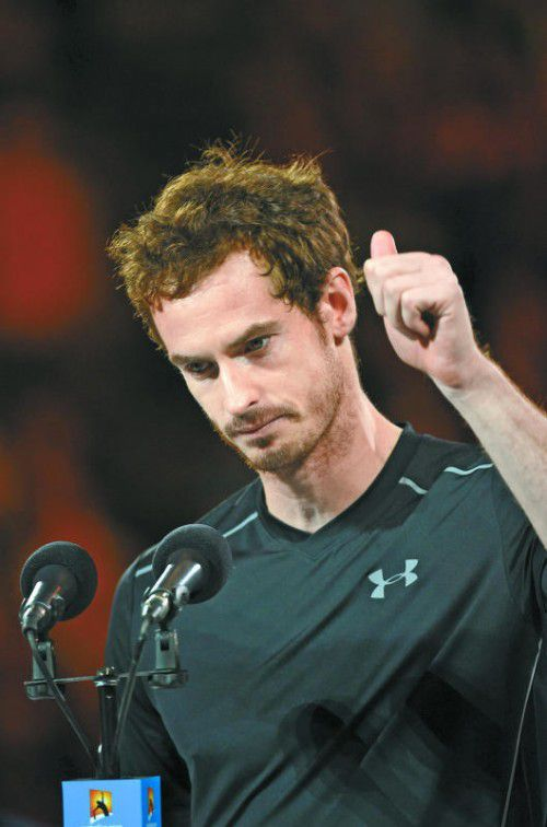 Fieberte schon in Melbourne der Geburt entgegen: Andy Murray.