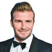 Beckham gibt einen Kaffee aus