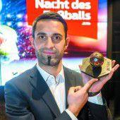 Özcan zu Vorarlbergs Fußballer des Jahres gekürt