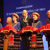 Mit zwei Rekorden auf das Dach Indochinas