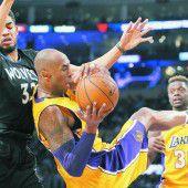 Kobe Bryant rettet Lakers