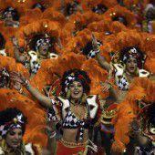 Brasilianer im Karnevalsrausch
