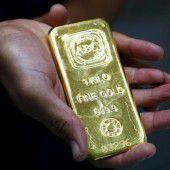 Gold ist gefragt