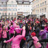 One Billion Rising: Mit Tanz und Freude gegen Gewalt an Frauen
