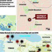 Türkei im Zentrum von Krisenherden