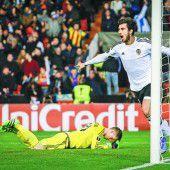 Valencia schoss Rapid mit 6:0 vom Platz