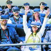 Virtuelle Realität heißt das Zauberwort