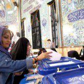 Politik. Wahl im Iran