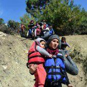 Flüchtlingschaos in Griechenland