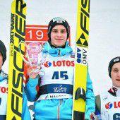 Ulrich Wohlgenannt feiert in Zakopane Doppelsieg