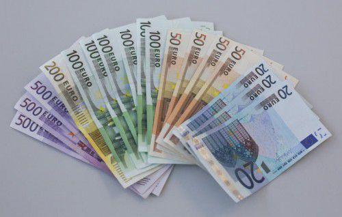 Hunderte Millionen Euro-Scheine sind in Österreich im Umlauf.