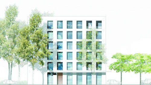 Im Frühjahr 2017 ist ein neues Gebäude im Interpark Focus in Röthis bezugsfertig.