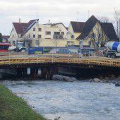 Sägerbrücke gut im Zeitplan