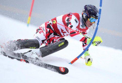 Mathias Graf sicherte dem VSV eine Slalom-Medaille.
