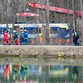 Elftes Todesopfer nach Zugunglück in Bayern