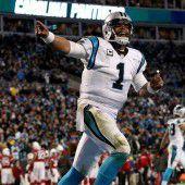 Carolina-Star Newton wie erwartet MVP