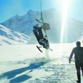 Zu dünnes Eis auf Silvrettasee: Skidoo brach ein und versank