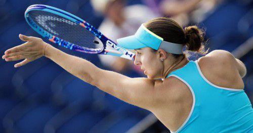 Nach starker Quali-Leistung kam für Tamira Paszek in St. Petersburg in Runde eins das Aus.