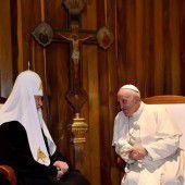 Historische Begegnung zwischen Kirchenchefs