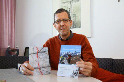 Rudi Müller hat seine Krankheit in einem Buch aufgearbeitet. Er stellt es am 24. Februar der Öffentlichkeit vor.