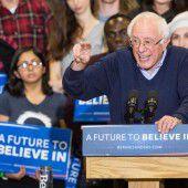 Sanders und Trump liegen in Umfragen vorne