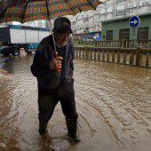 Überschwemmungen im Norden Spaniens