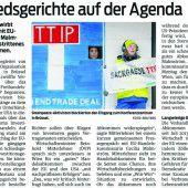 Aufwühlendes zu TTIP