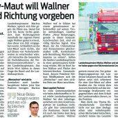 Salzburger Landesrat mit Kritik an Westachse