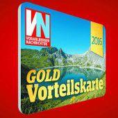VN-Vorteilskarte in Gold als Dankeschön