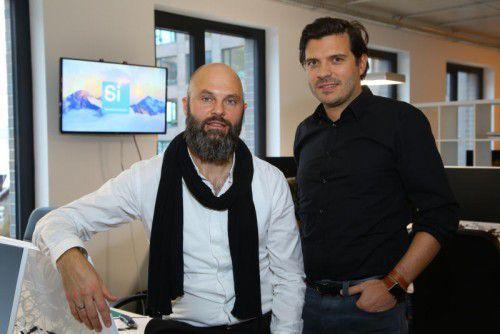 """""""Wir sind Companybuilder"""" sagen Michael Breidenbrücker (l.) und Christoph Böckle."""