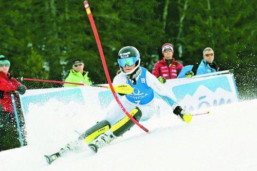 Zeigte international auf: Amanda Wachter gewann bei den Schülerrennen in Slowenien einen von zwei Torläufen.
