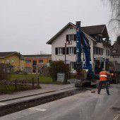 Götzis erneuert Wasserleitung