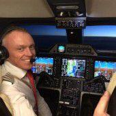 Bedarfsflieger mit neuem Kapitän