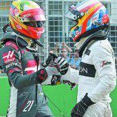 Ein Unfall verhalf Rosberg zum Sieg