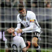 DFB-Team setzt mit 4:1 ein Zeichen