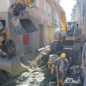 Bludenz: Innenstadt-Lifting läuft auf Hochtouren