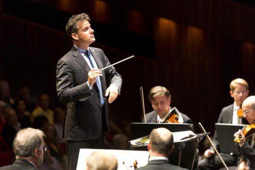 Philippe Jordan dirigiert die Wiener Symphoniker am Sonntag und Montag. BF/mathis