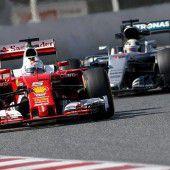 Sebastian Vettel geht mit Margherita auf Mercedes-Jagd