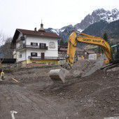 Bauarbeiten in Innerbraz sind angelaufen