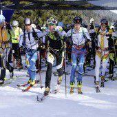 Titelkämpfe der Skibergsteiger
