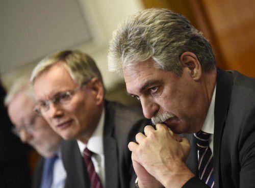 Die Regierung präsentierte am Montag ein Maßnahmenbündel zur Pensionssicherung.