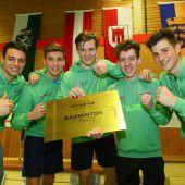 Badminton-Lager im Siegestaumel