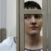 Sawtschenko unterbricht Hungerstreik
